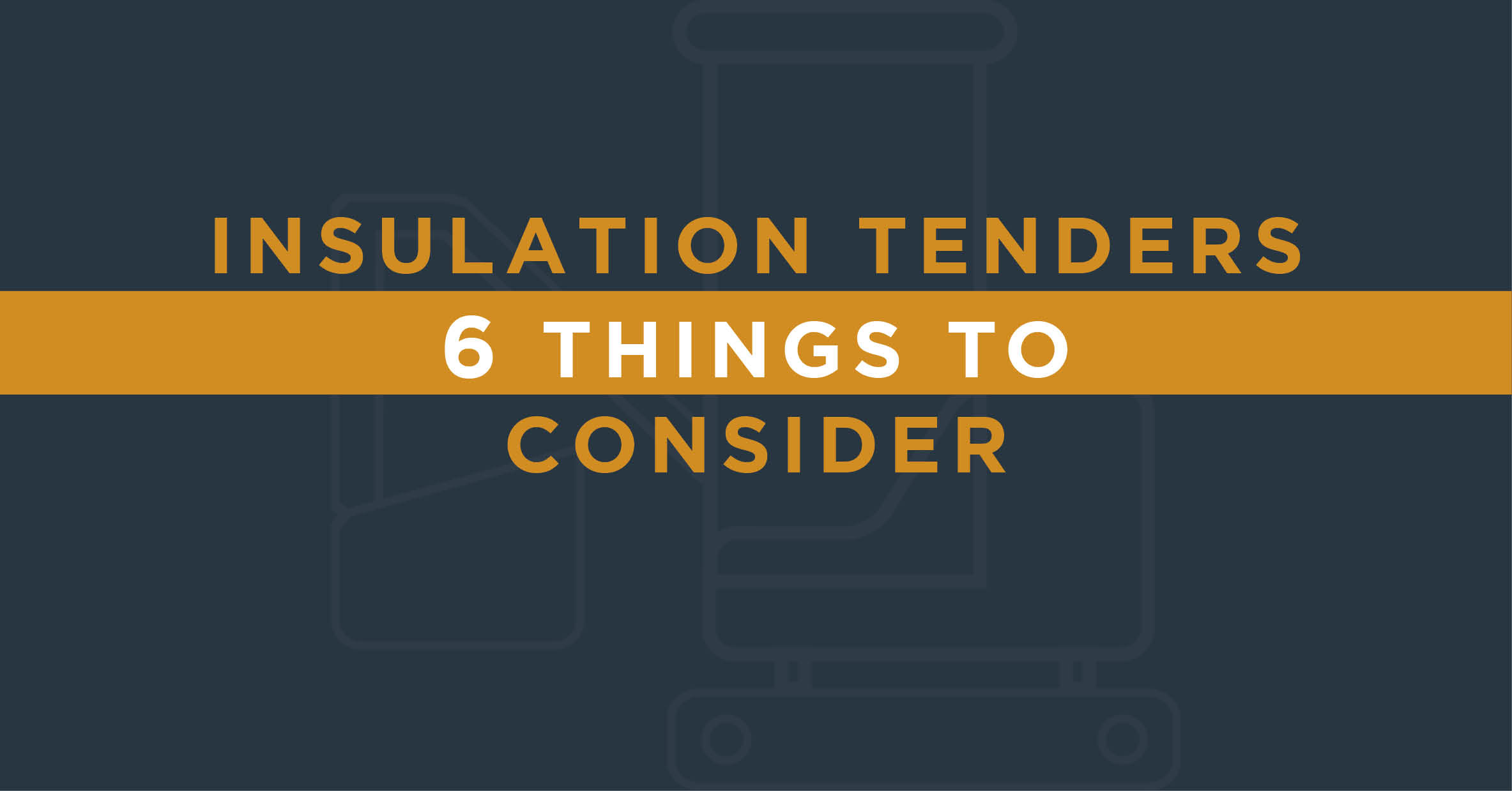 Insulation Tenders & Contracts