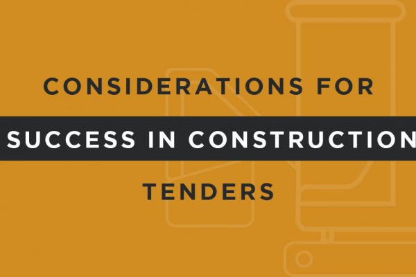 Finding success in procurement and tendering in construction